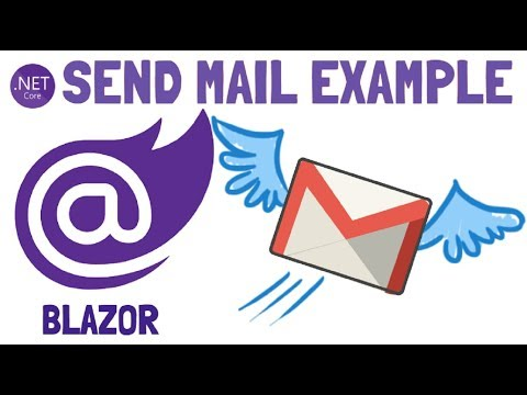 Blazor : Sending Mail Example | Send Mail From Gmail