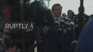 "USA: Florida governor says Saudis ""owe a debt"" to Pensacola shooting victims"