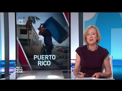 The logistical nightmare of getting backlogged aid into Puerto Rico