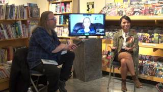 May 2017's KIDS GN-of-the-Month Club meeting for REAL FRIENDS with Shannon Hale and LeUyen Pham