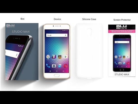 "BLU Studio Max -5.5"" Review 4G LTE Unlocked Smartphone - 16GB+2GB RAM - Gold"