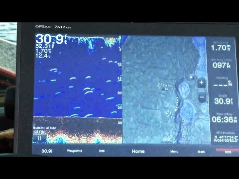 How to Track and Find Fish on a Electronic Fish Finder Garmin