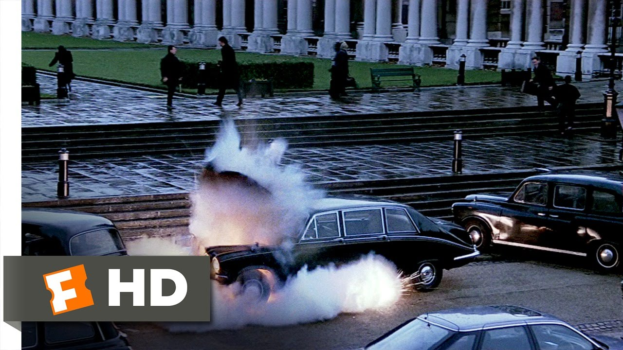 Patriot Games (1/9) Movie CLIP - London Ambush (1992) HD
