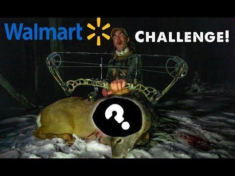 Walmart BOWHUNTING CHALLENGE! Archery Deer Hunting