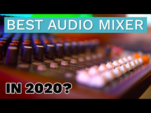 Best Audio Mixer for Streaming, Podcasting and Producing in 2020? - Tascam Model 12 Review