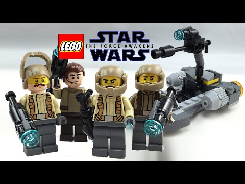 Lego Star Wars Resistance Officer  Minifigure From Set 75131