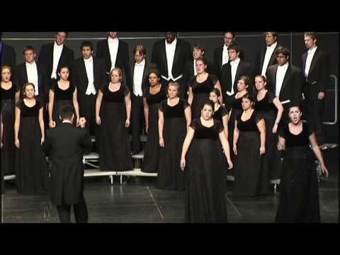 HOLD ON!   arr  Moses Hogan, University of Delaware Chorale