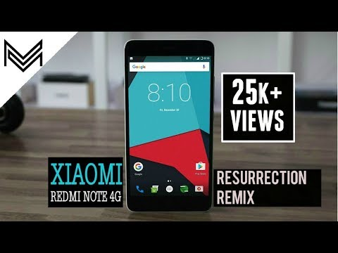 HOW TO INSTALL ANDROID 7.1 NOUGAT ON REDMI NOTE 4G ?