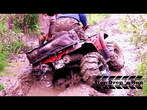ATV Mudding 4x4 Yamaha Kodiak 400 Quad