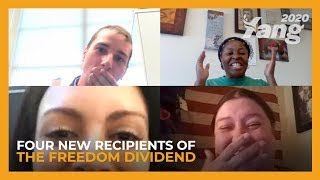 Four New Recipients of the Freedom Dividend
