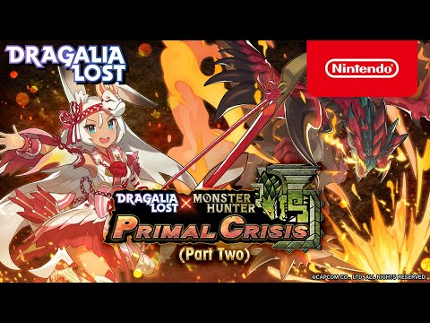 Dragalia Lost Monster Hunter Adds A Better Rathalos And Hunter Sarisse