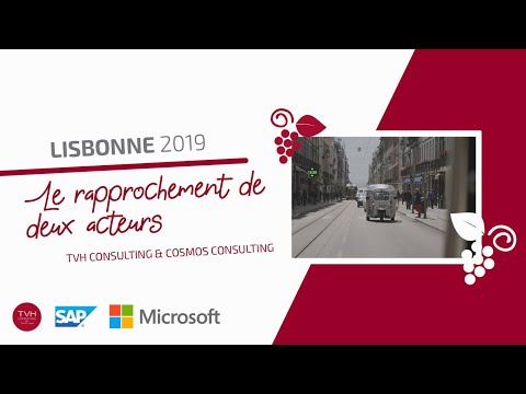 TVH Consulting & Cosmos Consulting : LISBONNE 2019