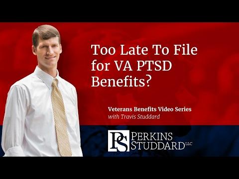 Too Late To File for VA PTSD Benefits?