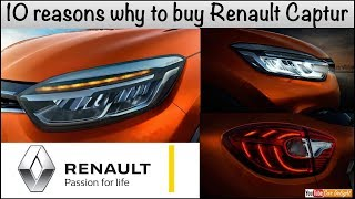 Top 10 Reasons To Buy Renault Captur over Hyundai Creta,Jeep Compass and Ford Ecosport
