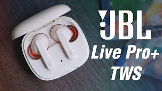 JBL Live Pro+ TWS - True wireless bass tốt rất hợp nghe EDM và Pop, đeo thoải mái, pin 28h
