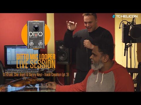Kendrick Lamar & Aloe Blacc producers - LIVE track creation with Ditto Mic Looper