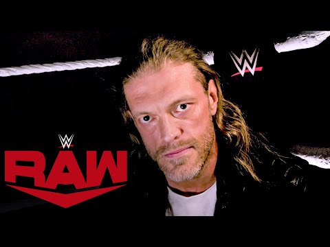 Edge declares his entry into the Royal Rumble Match: Raw, Jan. 25, 2021