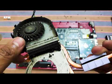 How to Clean Laptop FAN | MSI Laptop Disassembly