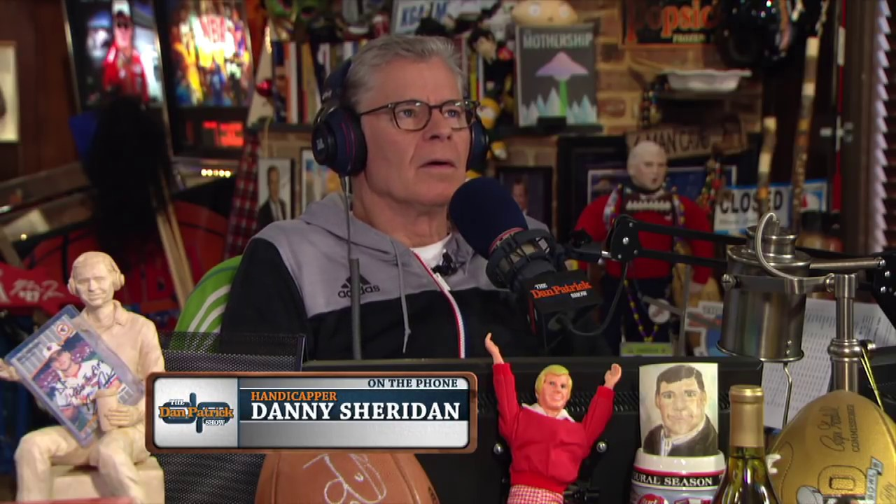 Handicapper Danny Sheridan on the Future of Sports Betting | The Dan  Patrick Show | 1/25/18
