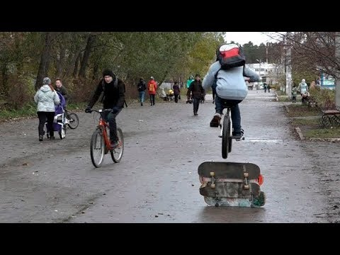 181029 Скейтбордисты Добрянки ждут площадку
