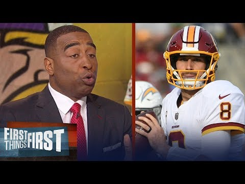 Cris Carter: Kirk Cousins is the final piece to propel Vikings to a Super Bowl | FIRST THINGS FIRST
