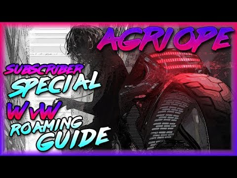 Guild Wars 2   [vT] Agriope 💀 Sub Special: WvW Warrior Roaming Guide thumbnail