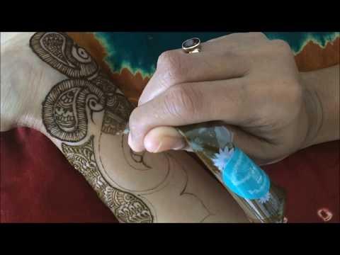 Traditional Indian Bridal mehendi series Episode 2