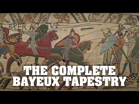 The Bayeux Tapestry - all of it, from start to finish