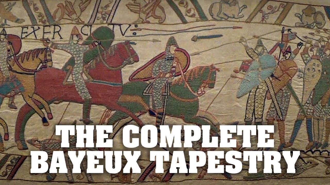 Teppich Von Bayeux The Bayeux Tapestry All Of It From Start To Finish