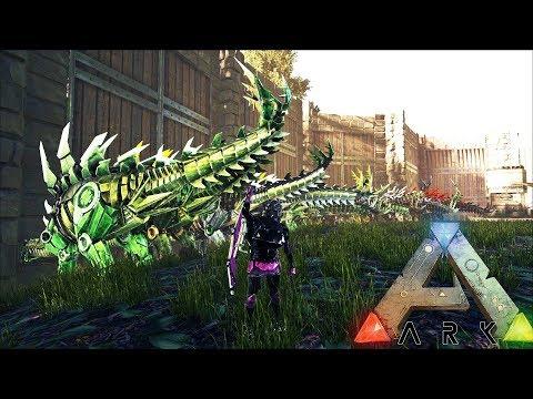 МАССОВОЕ ВЫРАЩИВАНИЕ! ТЕК СТЕГО И НОСОРОГИ! НОВОЕ ПОТОМСТВО ► Ark: Survival Evolved #6