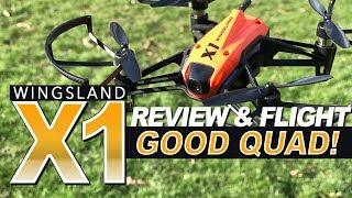 GOOD QUAD! - Wingsland X1 - Review, LOS, FPV Flights, Pros & Cons