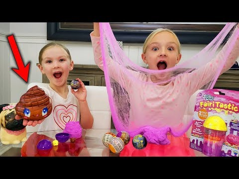Box Of Squishy Poo And Slime Delivered To Our House!!!
