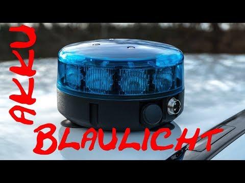 ISAE Electronica SL M 10 Akku LED Blaulicht