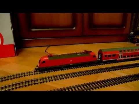 PIKO - мечта детства. Железная дорога. Набор 57175. + электровоз BR189. Railway Piko