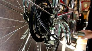 Oldest Electricl bike shifting system!