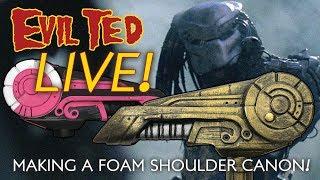 Video Evil Ted Live: Making a Foam Shoulder Canon download MP3, 3GP, MP4, WEBM, AVI, FLV Oktober 2018