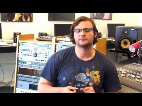 Students talk about the Audio Engineering Program at Bristol Studios