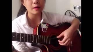 Nếu anh là em- guitar cover of Bích Phương