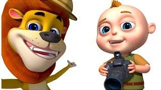 TooToo Boy Safari Episode | Cartoons For Children | Funny Comedy Series For Kids