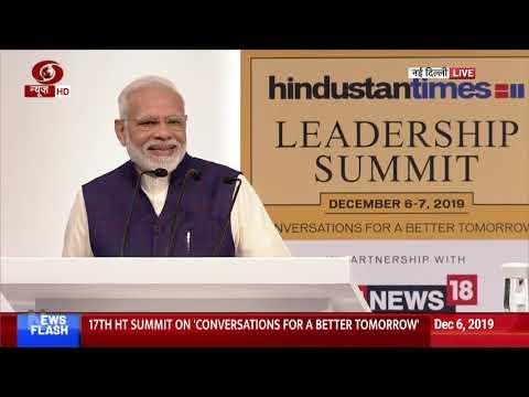 Full Event: PM Narendra Modi Addresses Hindustan Times Leadership Summit