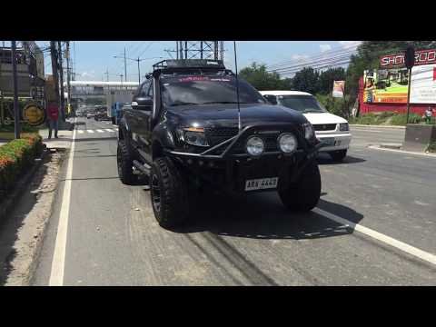 2.2 Ford Ranger exhaust system and front mount intercooler (DRIFT Xaust)!