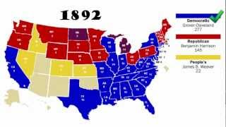 Electoral College Map Animated