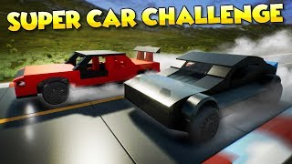 LEGO SUPERCARS RACE CHALLENGE! - Brick Rigs Multiplayer Gameplay and Creations