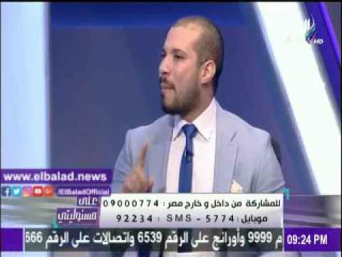 صدى البلد | مشادة على الهواء بين عبد الله رشدى ونجيب جبرائيل على الهواء