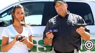 glock 42 vs sig p238 vs ruger lcp with todd cotta and vanessa