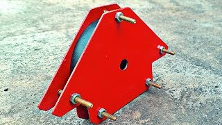MAKE A MAGNETIC ANGLE FIXTURE FOR WELDING