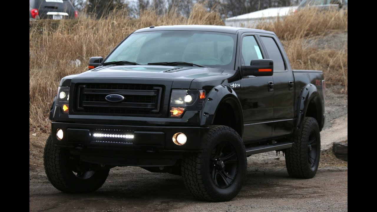 2014 f150 baja edition by sherrod black ford of murfreesboro youtube