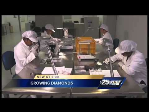 Grown diamonds lead to lower prices