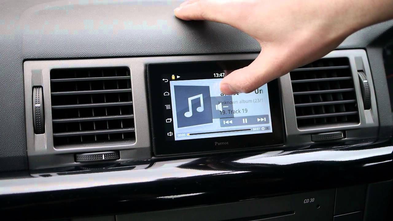 Parrot asteroid tablet in vauxhall vectra c youtube greentooth Image collections