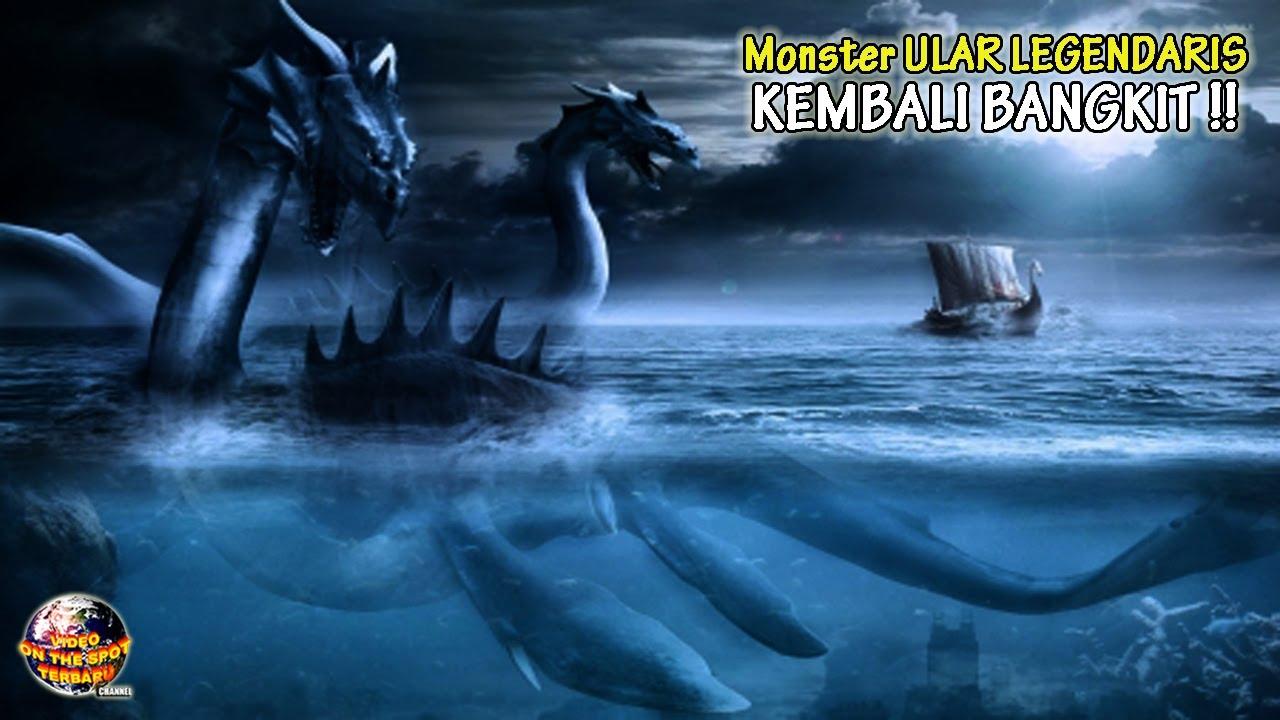 Monster Ular Legendaris Kembali BANGKIT di Perairan // Mahkluk Mitologi Tak Sengaja Terekam Kamera